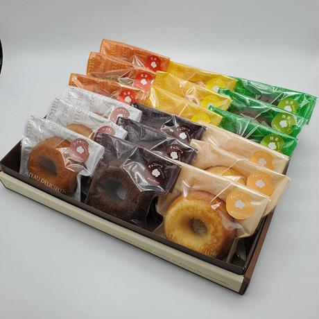 ミサキドーナツの焼きドーナツ18点セット(送料込)