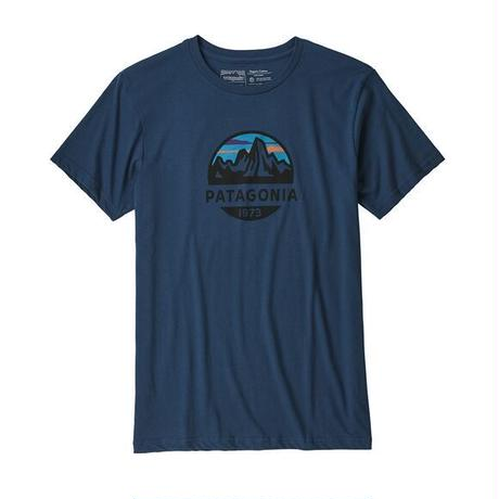 patagonia(パタゴニア) メンズ・フィッツロイ・スコープ・オーガニック・Tシャツ SNBL [39144]