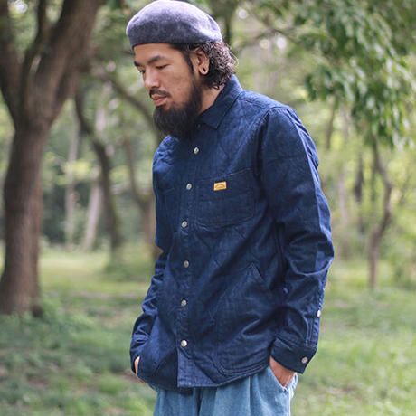 NATAL DESIGN(ネイタルデザイン) Quilted Shirts4 ONE WASH [NAT005]