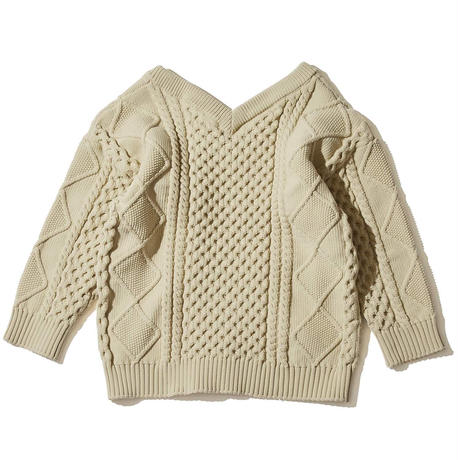 F/CE. LIGHT ALAN KNIT Ivory  [F2002FCWKN0004]