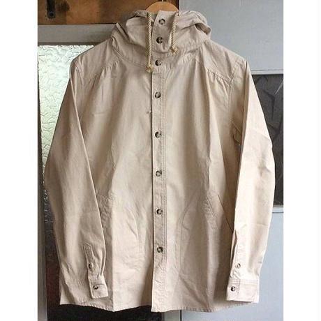 Naturalbicycle(ナチュラルバイシクル) Rip-stop Hoodie Shirts NATURAL [NSPK-1120]【セール価格商品】