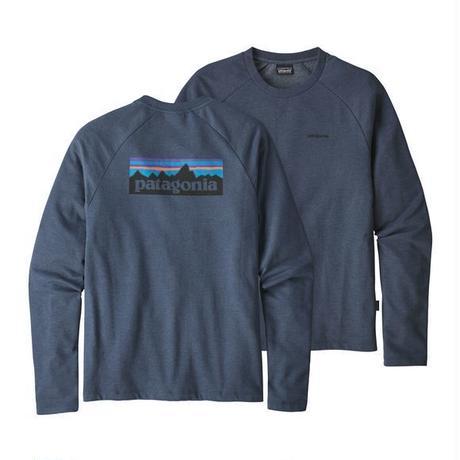 patagonia(パタゴニア) メンズ・P-6 ロゴ・ライトウェイト・クルー・スウェットシャツ DLMB [39550]