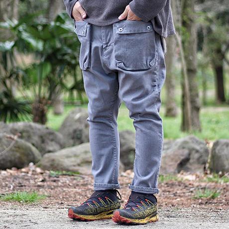 NATAL DESIGN(ネイタルデザイン) G55 Sarouel Flap Denim Pants GRAY [NAT031-G]