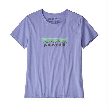 patagonia(パタゴニア) ウィメンズ・パステル・P-6 ロゴ・オーガニック・クルー・Tシャツ LVBL [39576]