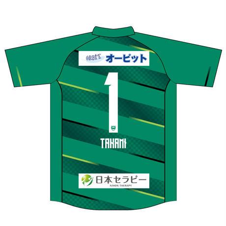 【大人・子ども】GKシャツ(グリーン)、番号・ネーム有り