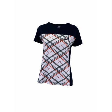 セントクリストファー(St.Christopher)オブリークチェックゲームシャツ/STC-BKW2171(NVRD)