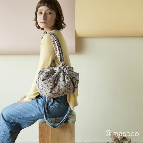 odekake furoshiki / yoimachi-gusa  / パープル × ピンク