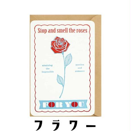 LETTERPRESS GREETING CARD:FOR YOU