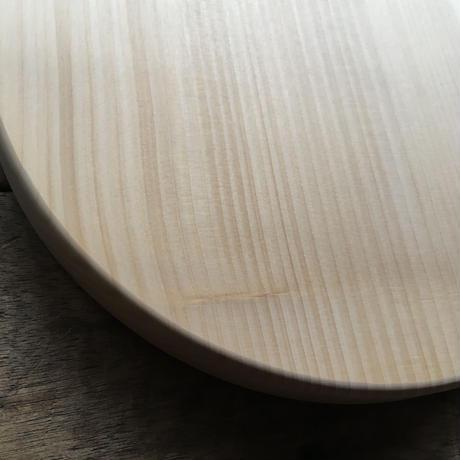 「いちょうの木のまな板」まん丸  直径30センチ wp-04