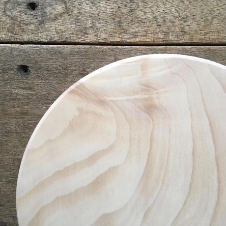 いちょうの木のまな板」まん丸  直径25センチ wp-05