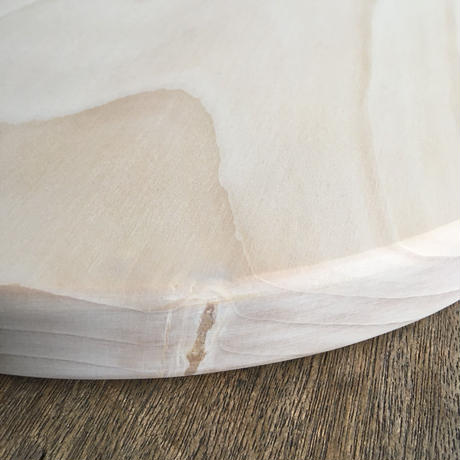 いちょうの木のまな板」まん丸  直径25センチ wp-06