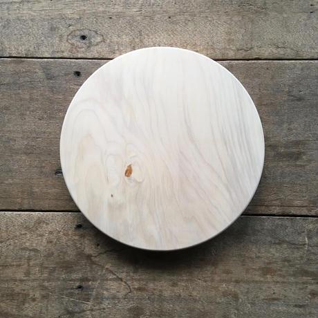 「いちょうの木のまな板」まん丸  直径30センチ wp-10