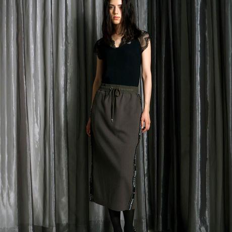 ジャカードサイドフリルタイトスカート CQ-39040