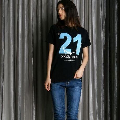 No.21 プリントパイルTee CQ-38107【SALE】