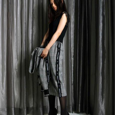 マルチパターンサイドフリルタイトスカート CQ-39043