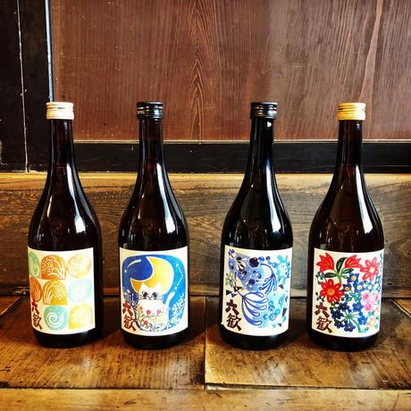 【テーマで醸す福知山市六人部生まれの純米酒シリーズ】六歓飲みくらべ 720ml 4本セット(ご自宅用)