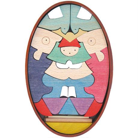 【五月人形】楕円鯉武者(小)