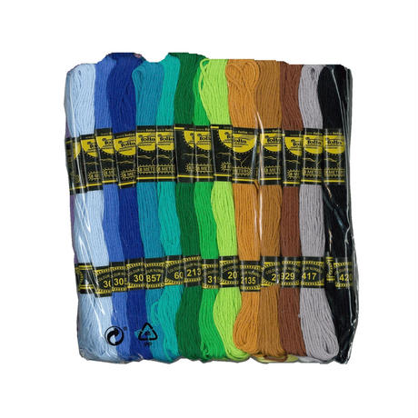 刺繍糸セット 26色 各2束