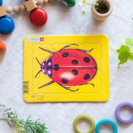 LARSENパズル ミニ4枚セット 昆虫(5P)