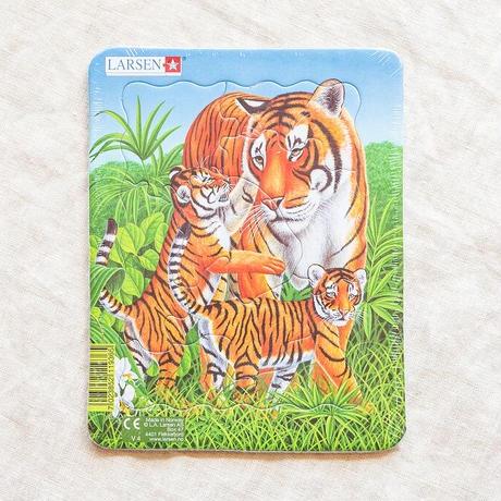 LARSENパズル ミニ4枚セット 動物の親子(8P)