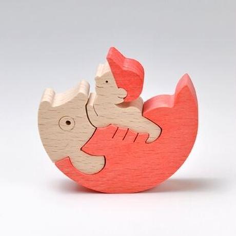 【五月人形】鯉のり野球坊や(赤)