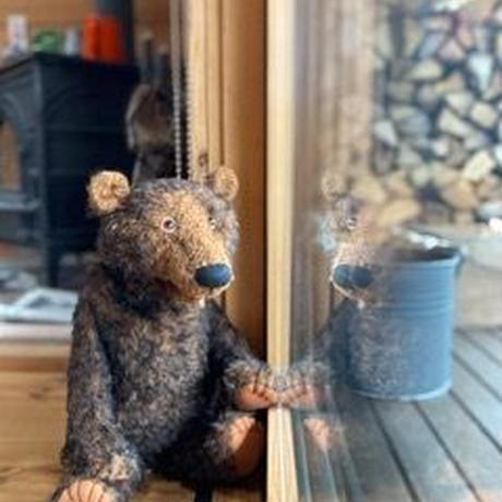バーレーベンどうぶつ手人形 クマのオラフ