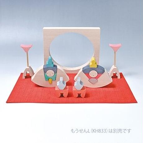 【ひな人形】楕円びな