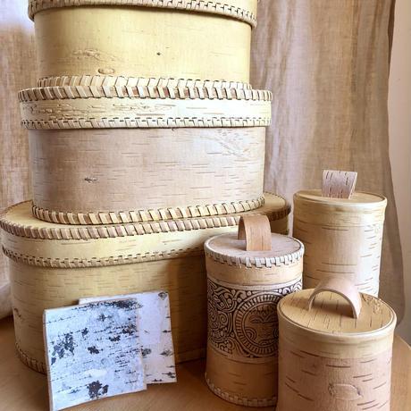 白樺ボックス オーバルK011(Collection Birkelinde)