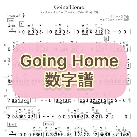 「Going Home」数字譜