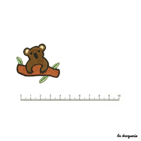 Ecusson « Koala » tout doux | Ecusson à thermocoller 45 x 40 mm