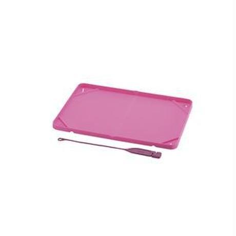 (まとめ)おでかけシーツトレー レギュラー ピンク (ペット用品) (×5セット)