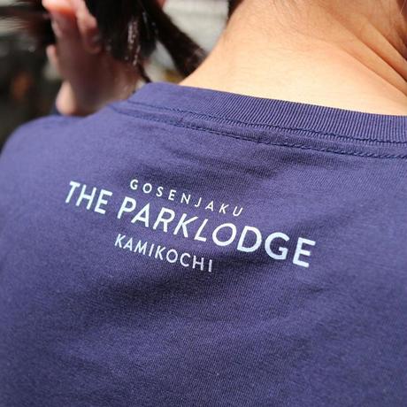 THE PARKLODGE上高地 オリジナルTシャツ(ネイビー)-KLO