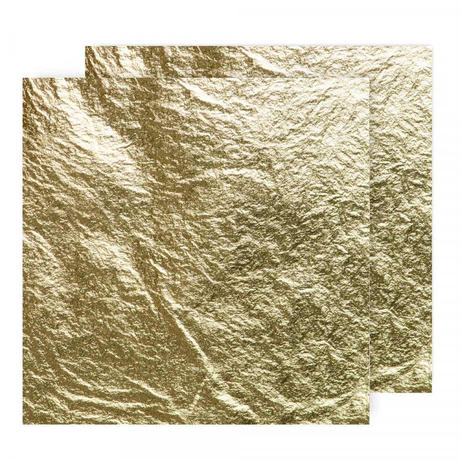 金箔25枚 [Handover] 14g Extra Thick 23ct Gold Leaf (Loose)  80 x 80 mm
