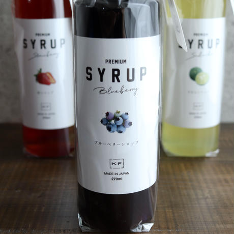 BLUEBERRY SYRUP(ブルーベリー)