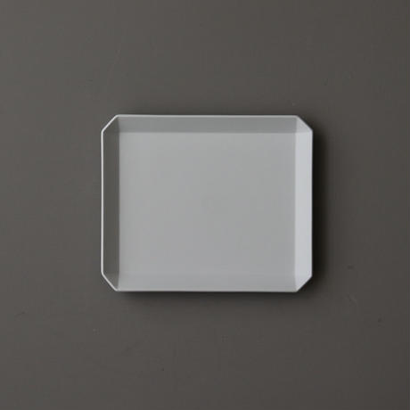 TY Square Plate 165 Gray