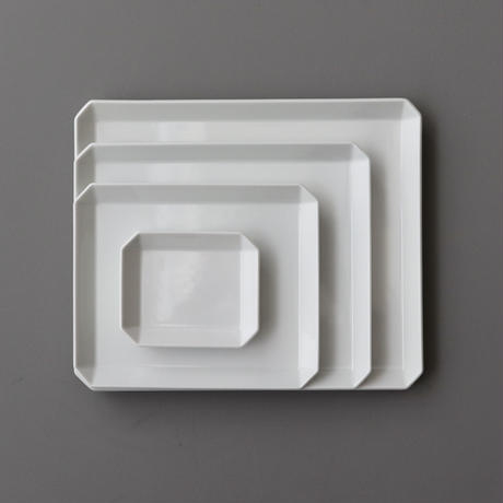 TY Square Plate 235 White