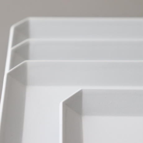 TY Square Plate 90 White
