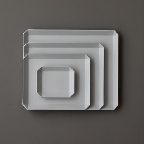 TY Square Plate 90 Gray