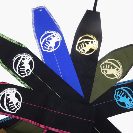 STRENGTH WRAPS / Black & Blue Stitch