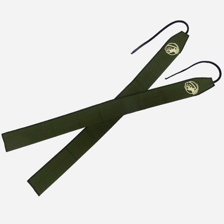 STRENGTH WRAPS / Army Green & Black Stitch