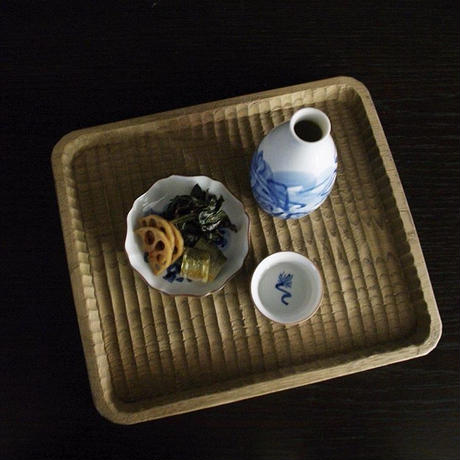 牧野伊三夫 九谷焼  絵付 三寸皿 No.2