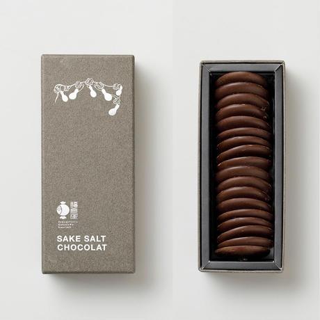 サケ ソルトショコラ SAKE SALT CHOCOLAT  18枚 化粧箱入