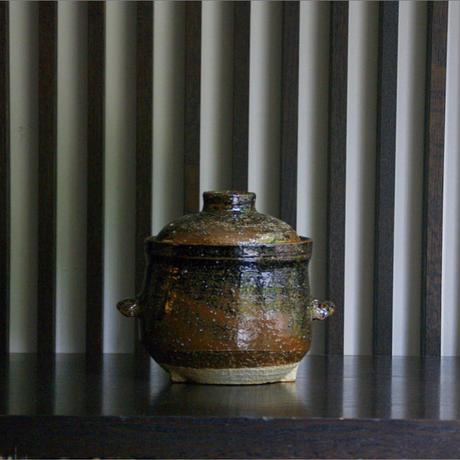 鉄釉煮込鍋/石井直人
