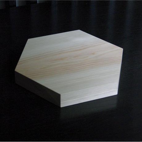 石井すみ子/六角まな板(ヒノキ)