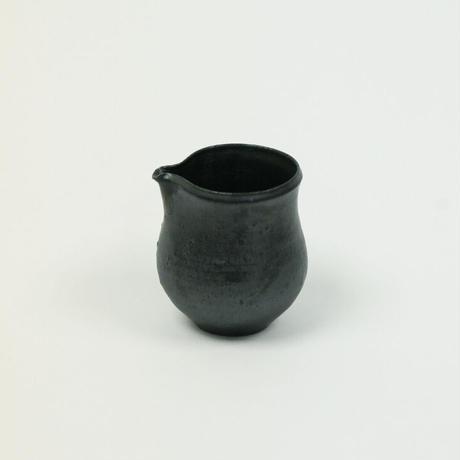 福森道歩 黒釉片口(小)no3