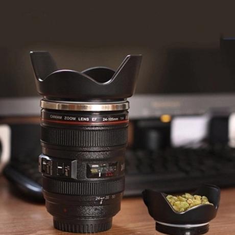 カメラ レンズ仕様 コーヒーカップ 24ー105ミリタイプ Caniam