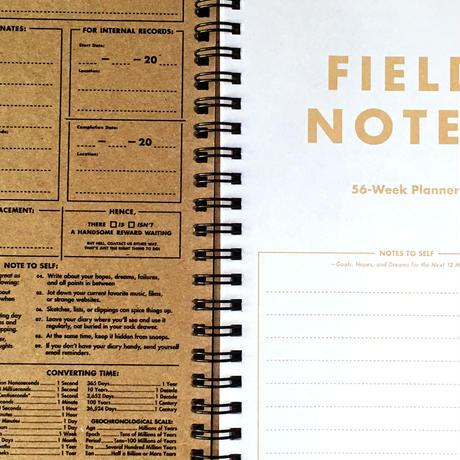 FIELD NOTES / 56-Week Planner