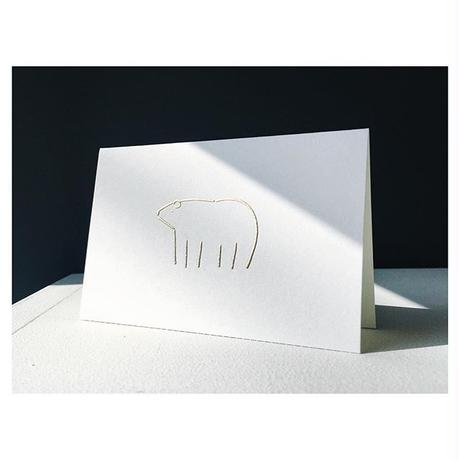 PAPIER LABO. / Animal Card