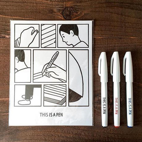 Noritake / THIS IS A PEN   (card)