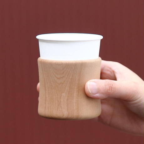 木の紙コップホルダー 通常タイプ